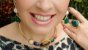 Gargantilha Choker Pedra Amazonita Bege, Sodalita Azul do Mar, Olho de Tigre, Ágata verde, Pedra do Sol Scandal - Imagem 7