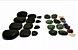 Kit 30 Pedras Quentes Terapêuticas Vulcânicas + Quartzo Cristais na Shoppstore® - Imagem 1