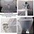Sauna Vapor Residencial Bivolt Rejuvenator Relax Cabine c/Suporte Inteligente Dobrável p/Box de Banheiros - Imagem 8