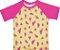 Kit Biquíni e Camiseta Melancia Rosa com Proteção Uv50 Everly - Imagem 3