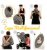 Capa Multifuncional Colors para Bebê Conforto e Carrinho Penka Rafiki Cinza Chumbo - Imagem 2