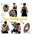 Capa Multifuncional Print para Bebê Conforto e Carrinho Penka Olaf Branca - Imagem 2