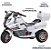 Moto Elétrica BMW Infantil Triciclo Som Luz Bel Fix 928400 - Imagem 3