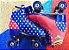 Patins Roller Mulher Maravilha 37 Tradicional Bel Fix 603700 - Imagem 9