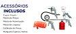 Kit Pistola Pintura 7 Peças Mangueira Calibrador Engate MTX 573049 / 570169 - Imagem 3