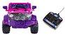 Mini Veículo Jipe 2x1 Rali Controle Remoto 12v Pink Som Luzes Bel Fix 927500 - Imagem 2