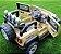 Mini Veículo Jipe 2x1 Rali Controle Remoto 12v Caqui Som Luzes Bel Fix 927300 - Imagem 8