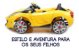Mini Veículo Carro Elétrico 2x1 C. Remoto 12v Infantil Bel Brink 926800 - Imagem 7