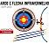 Kit Arco Flecha Arqueiro Mira Laser Alvo Pontuação Infantil Bel 490500 - Imagem 3