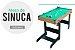 Mesa Sinuca Bilhar Snooker Dobrável 1,17m Jogo Bolas Game Bel Brink 487400 - Imagem 3