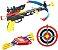 Crossbow Kit Arqueiro Arco Flecha Infra Mira Laser Alvo Bel Fix 490700 - Imagem 1