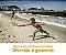 Kit Frescobol Par Raquetes Praia Jogo Bolinha Bolsa Red Nose 486300 - Imagem 7