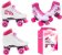 Patins 36 Clássico Roller 4 Rodas Vintage Retrô Quad Love Bel Sports 373600 - Imagem 2