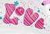 Patins 36 Clássico Roller 4 Rodas Vintage Retrô Quad Love Bel Sports 373600 - Imagem 8