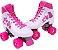 Patins 37 Clássico Roller 4 Rodas Vintage Retrô Quad Love Bel Sports 373700 - Imagem 8