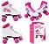 Patins 37 Clássico Roller 4 Rodas Vintage Retrô Quad Love Bel Sports 373700 - Imagem 2