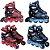 Patins 32, 33, 34, 35, 36 Inline Roller Abec 9 Chassi Alumínio Bel Sports 369200 - Imagem 1