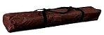 Tenda 3x3m Dobrável Sanfona Poliéster Gazebo Alumínio Praia Marrom Bel Fix 331300 - Imagem 4