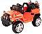 Mini Veículo Infantil Elétrico 3x1 Jipe 12v Controle Remoto Laranja Glee S8-O - Imagem 4