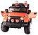 Mini Veículo Infantil Elétrico 3x1 Jipe 12v Controle Remoto Laranja Glee S8-O - Imagem 3