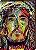Quadro decorativo Pintura Cristo - Colorido  [BoxMadeira] - Imagem 2