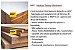 Expositor  Organizador de Esmalte e Outros Produtos de Beleza  de Madeira Reforçada - Utilizar em  Balcão ou Fixar na Parede - 60 cm Largura x 45 Altura x 10 cm Profundidade - Pronta Entrega - Imagem 4