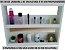 Expositor  Organizador de Esmalte e Outros Produtos de Beleza  de Madeira Reforçada - Utilizar em  Balcão ou Fixar na Parede - 60 cm Largura x 45 Altura x 10 cm Profundidade - Pronta Entrega - Imagem 3