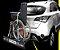 """Bagageiro de Engate X Bag ( Extensor de Porta Malas) transporta até 3 malas de viagem """"G"""", cadeira de rodas, caixa térmica de 90 litros, carrinho de bebê,  além de uma grande variedade de outros objetos e equipamentos. FRETE GRÁTIS - Imagem 4"""