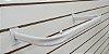 3 Araras de Roupa P/  Painel Canaletado Tubo Oblongo Extra Reforçado - 60cm ou 100 cm - Branca ou Preta  - Pronta entrega  - Imagem 1