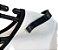 Presilha Clips Para Estabilizar Roupas em Geral no Cabide - 100 Pçs -  1 cm Largura X 5,5 cm Altura X 3mm Espessura - PRONTA ENTREGA - Imagem 3