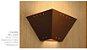Arandela Interna Rústica Metal Envelhecido Oxidado 36x18 Napoli Madelustre E-27 2564 Corredores e Salas - Imagem 3