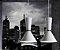 Pendente Bambola Metal Funil Vertical Metal Branco 41,5x18cm Newline Lâmpada E27 25W Bivolt 153BTCO Salas e Hall - Imagem 2