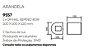 Arandela Oval Duplo Facho Sobrepor Curva Alumínio 10x12cm Newline 1x G9 Halopin Bivolt 9557FF Salas e Quartos - Imagem 2
