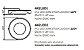 Plafon Iris Embutido Alumínio Acrílico Branco 14,7x60,5cm Newline PCI LED 30W 2700K 442LEDBT Salas e Quartos - Imagem 2