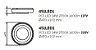 Plafon Iris Redondo Alumínio Acrílico Branco 10,2x47cm Newline PCI LED 24W 2700K 451LEDBT Entradas e Salas - Imagem 2