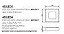 Plafon New Massu LED Aberto Sobrepor Acrílico 8,3x35cm Newline PCI LED 30W Bivolt 481LEDCO Salas e Quartos - Imagem 2