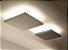 Plafon Tray LED Sobrepor Quadrado Metal Branco 14x40cm Newline PCI LED 30W Bivolt 530LEDBT Salas e Entradas - Imagem 2