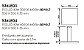 Pendente Tray LED Horizontal Quadrado Metal Preto 3,5x50cm Newline PCI LED 40W Bivolt 536LEDPT Salas e Entradas - Imagem 2