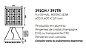 Pendente Lusso Cristais Quadrado Alumínio 11x60cm Newline 9x G9 Halopin Bivolt 392TRPTDO Salas e Entradas - Imagem 2