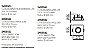 Spot Lisse II Pin Hole Embutido Direcionável 7x12cm Newline 1x GU10/GZ10 AR70 LED IN55541BT Salas e Corredores - Imagem 2