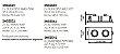 Spot Lisse II Duplo Embutido Retangular Alumínio 7x16cm Newline 2x GU10/GZ10 AR111 LED IN55552BT Salas e Quartos - Imagem 2