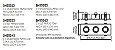 Spot Lisse II Triplo Embutido Retangular Alumínio 46x16cm Newline 3x GU10/GZ10 AR111 LED IN55553BT Salas e Quartos - Imagem 2
