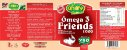 Ômega 3 Friends 1000 - 280 cápsulas - Unilife Vitamins - Imagem 2