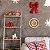Quadro de Madeira Redondo - Feliz Natal Claro - Imagem 2