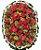 Q - Coroa de Flores Paixão Eterna - Imagem 1