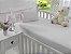 Jogo de Lençol de Berço Malha 100% Algodão Branco - Sathler Baby - Imagem 1