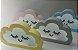 Luminária Nuvem Branca com Fio - Sathler Baby - Imagem 1