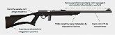 """RIFLE CBC .22 BOLT ACTION 8122 23"""" OXPP CV POLIMERO - Imagem 5"""