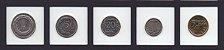 set com  com 5 moedas da Polônia - Imagem 1
