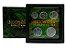 Display de Plástico Indonésia com 5 moedas - Imagem 1